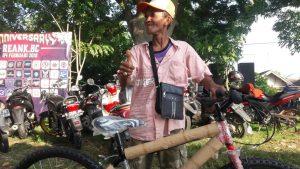 Peraih hadiah sepeda di Reank BC