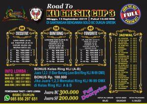 Brosur Road to KLI Gresik Cup 3