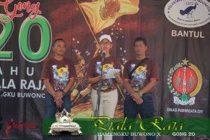 Sambutan Gusti Kanjeng Ratu Mangkubumi