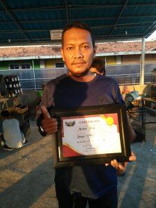 Pager Wojo milik Mr. Andre dari PCG