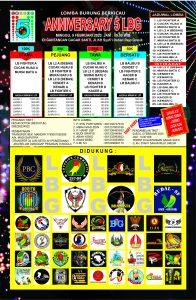 Brosur LBG Cup V Gresik 9 Februari 2020