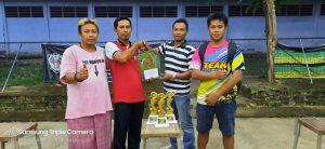 Duta Peganden BC Cup 1 juara umum