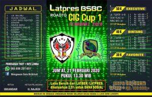 Latpres BSBC road to CIG Cup 1
